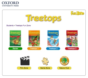 Treetops FunZone page