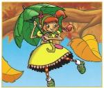 Parasolka Holly - karta obrazkowa