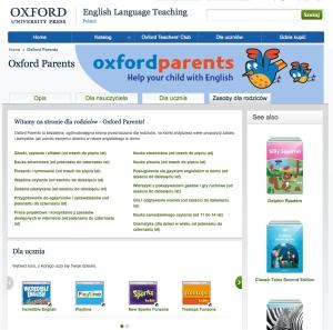 Strona dla rodziców Oxford parents