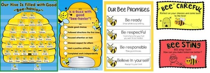 BEE-haviour theme