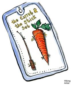 Stick&Carrot Set - Nauczycielki niezbędnik