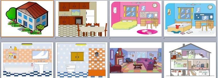 House - flashcards