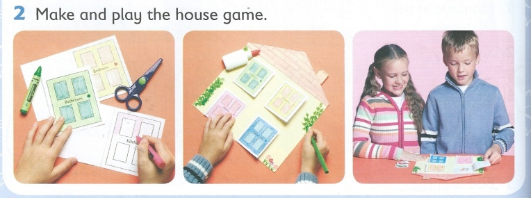 Houses Round up game
