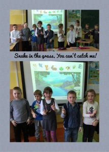1a singing The Snake song
