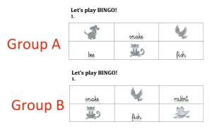 Bingo prep
