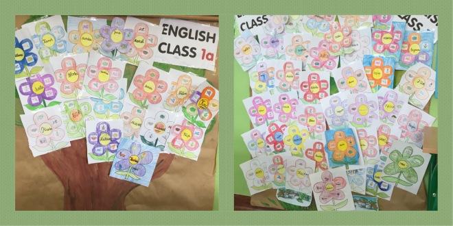 Flowers class display