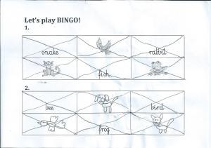 Probne bingo