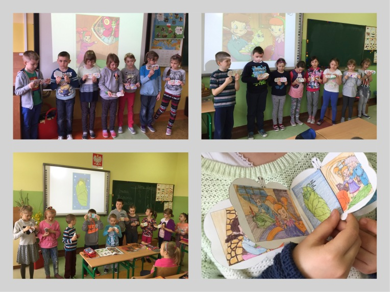 Classes' presentations of The Butterfly Book