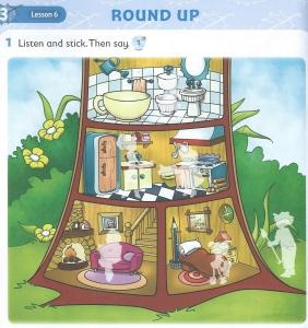 Dubious language exercise (Treetops 1, round up unit 3 - Houses.)
