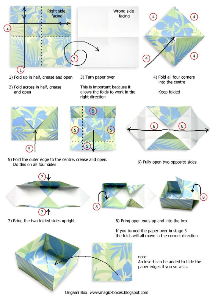 Origami Box. Source: xmonic.net