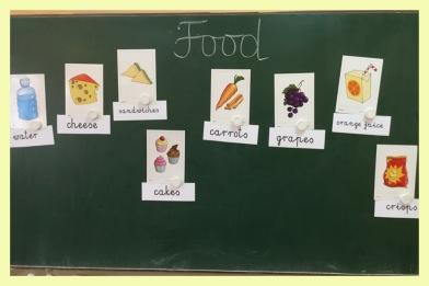 Food vocab