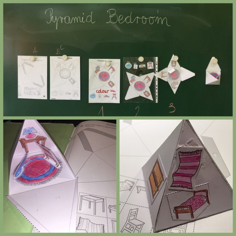 Pyramid Bedroom