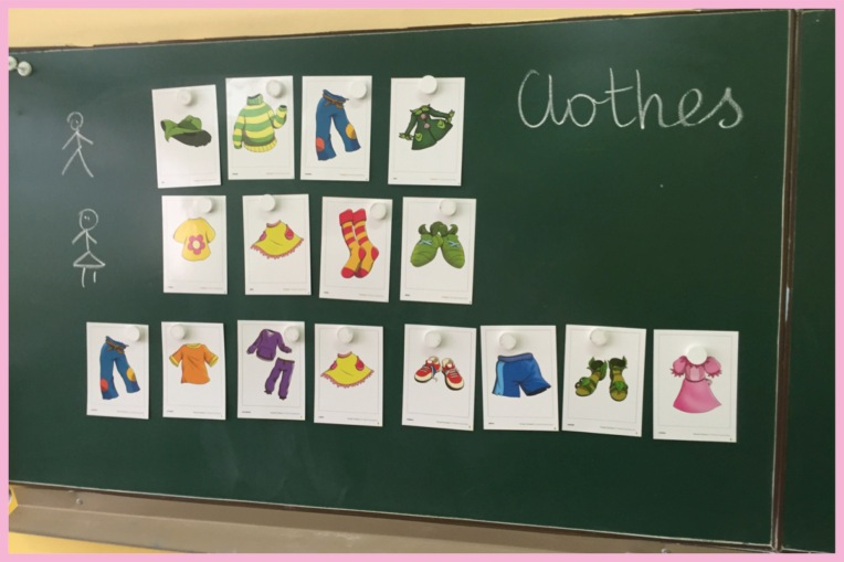 Clothes vocab