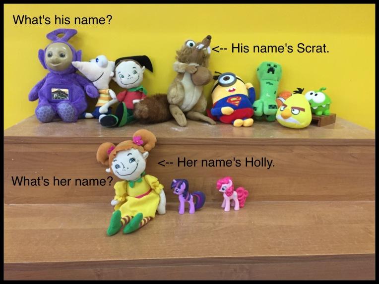 Toys names