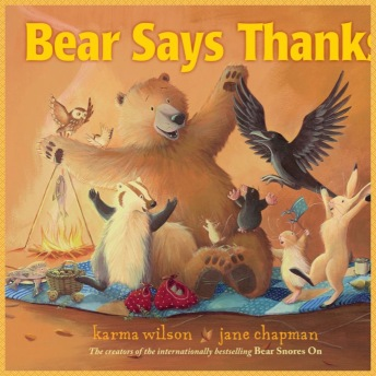 Bear says thanks