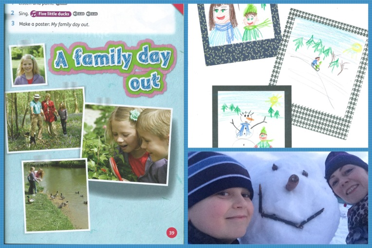 My family day our posters