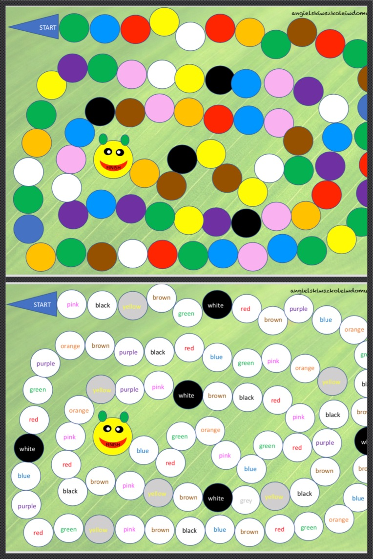 Colours games_1st graders