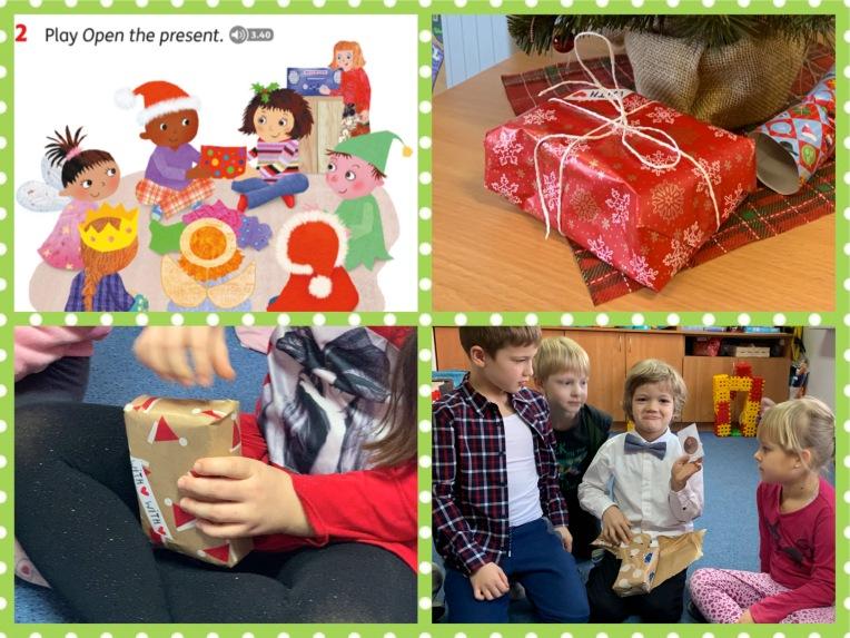 Open the present0